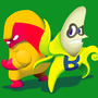 Man-go and Ba-man-a by caleblemaster49