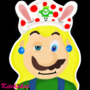 Vinesauce Fan Art (Mario + Rabbids Speed Painting) by PrettyKitty98