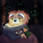 Bed Time Story by ponderous-plants