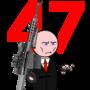 Hitman #47 sniper by VladimirLyuty