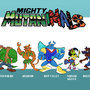 Mighty Mutanimals by spookycube