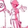 sketch girl 2 by peixeaquatico