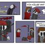 Team Battle - Page Three by SquigleyG