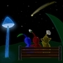 calm pikmin night by Anthony-Liberty