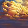 Clouds in Sunset (Tutorial)