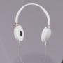 White Headphones by calicrazedbeats