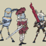 Several characters I made for our game