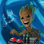 Baby Groot by IsaacChamplain