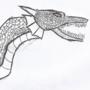Inktober Day #2 - Orphic Viper
