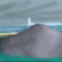 A Rainy Day on an Island
