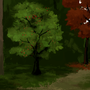 Autumn painting by Arja