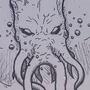 Submerged Cthulhu by CADANAMAN