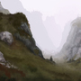Misty Mountains by LeFrenchBaguette