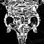 Robot CattleSkull by buriedantenna