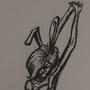 Bunny girl doodle