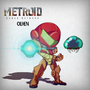 Samus and Metroid by olbengc
