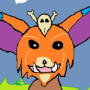 Gnar standing in a grassy meadow
