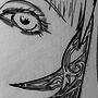 inktober the bride by Zakuga