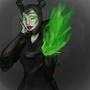Maleficent's Magic by lillianna
