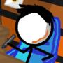 A stickman animates by TheVanillaLog