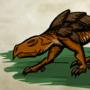 Extra scaly lizard by BugMcVagh
