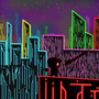 Neon City by Lathryn
