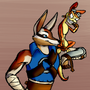 Mac and Daxter by RainbowDogma