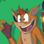 Crash Bandicoot Fanart