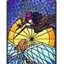 Stained Glass_The Battle by zebras-on-ice