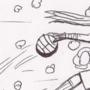 Pesky Ninjas, Stealing Our B-Balls by artistofargoth