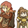 Luthier and Delthea by TKOWL