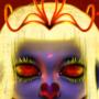 Burning princess by x0mbi3s