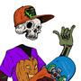 Skull boi - Skater boi by dimi3