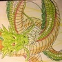 Shenron Drawing by PungentGallery