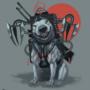 Cyber Punk Dog by Mozakade