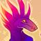 Colorful lizardman
