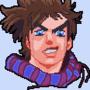 Joseph joestar aka best jojo pixel art