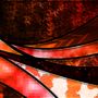 Abstract Orange Desktop Background by PolygonDonut