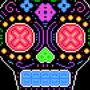 Neon Sugar Skull