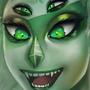Malachite Portrait