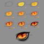 Anime Style Scary Eye Tutorial