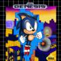 Sonic Mania North American Box Art | Greg Martin Art Style| Drawn by Blue Bolt Genesis by BlueBoltGenesis