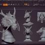 Asian Dragon by cvillart