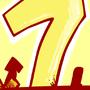 Inktober #7 Lucky 7 by Cyberdevil