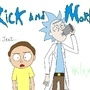 Rick and Morty by HaileySmith