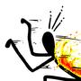 Inktober #23 Back Blaze by Cyberdevil