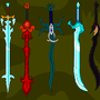 The Seven GreatSwords by ScelesticFish