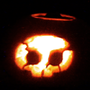 Dad 'n' Me pumpkin by Tott