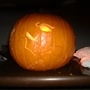 Tricky pumpkin carving