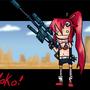 Yoko is sexy by Zelldoom